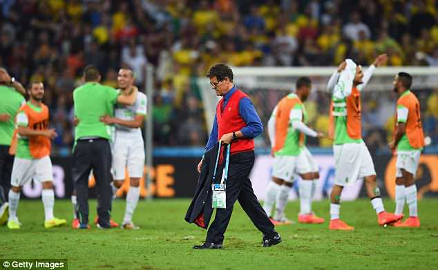 Fabio Capello was the last boss to lead Russia into a World Cup as they flopped and went out