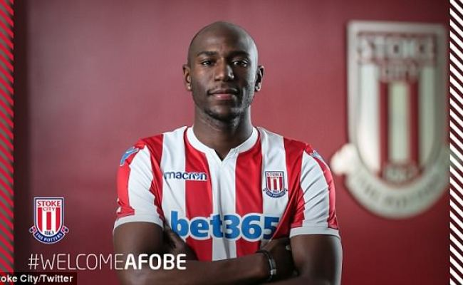Stoke Sign Benik Afobe Less Than Two Weeks After Striker