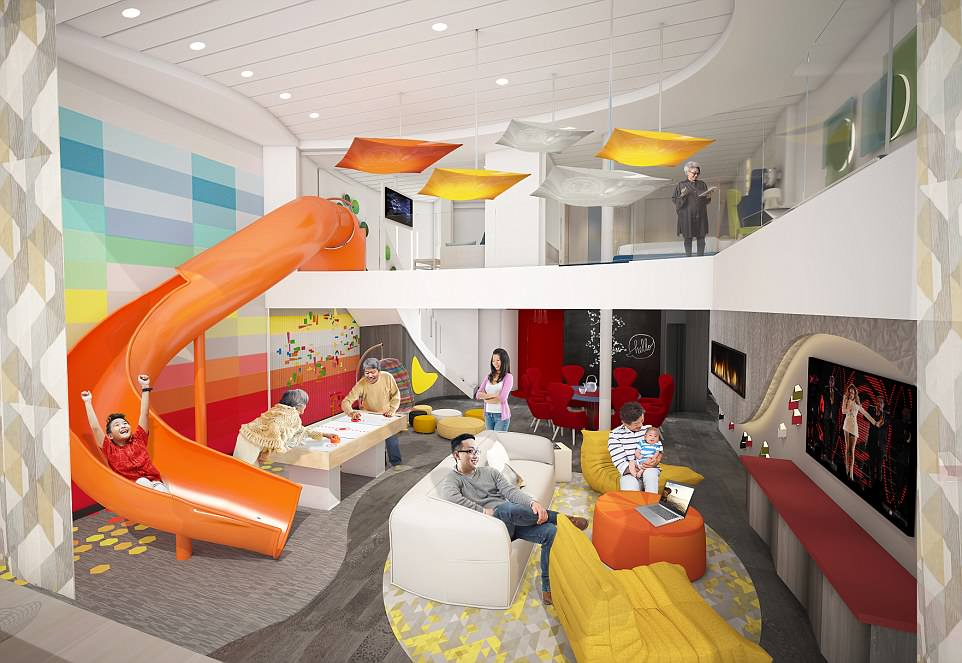Royal Caribbean Unveils The New Features On Its Latest