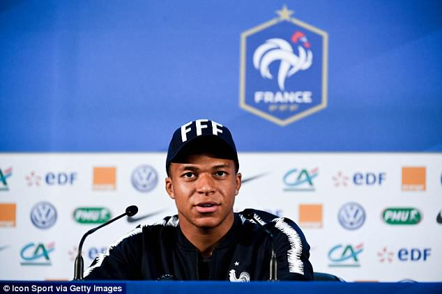 France striker Kylian Mbappe insists that he is '100 per cent' fit for the game against Australia