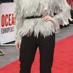 Rihanna,Sandra Bullock,Sarah Paulson at the Ocean's 8 London premiere