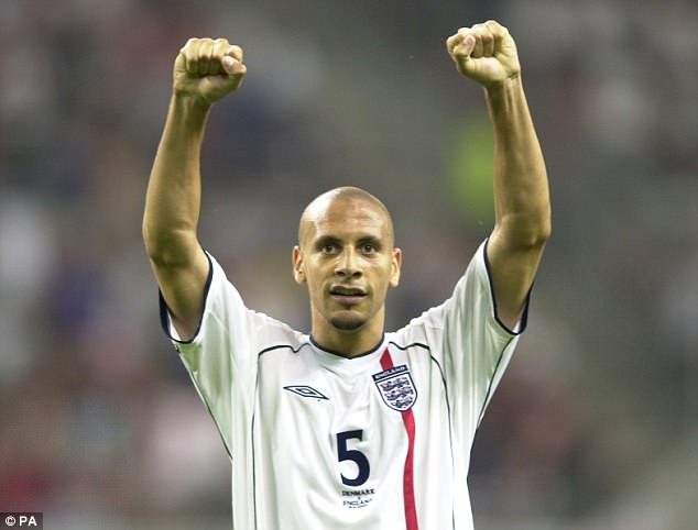 Ferdinand wants England's youngsters to look at the World Cup as an opportunity