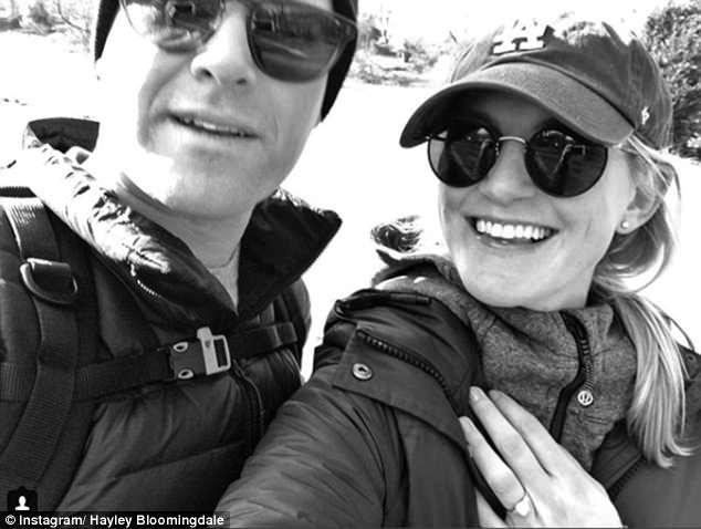 She announced her engagement topartner Dada Stileman on Instagram in February