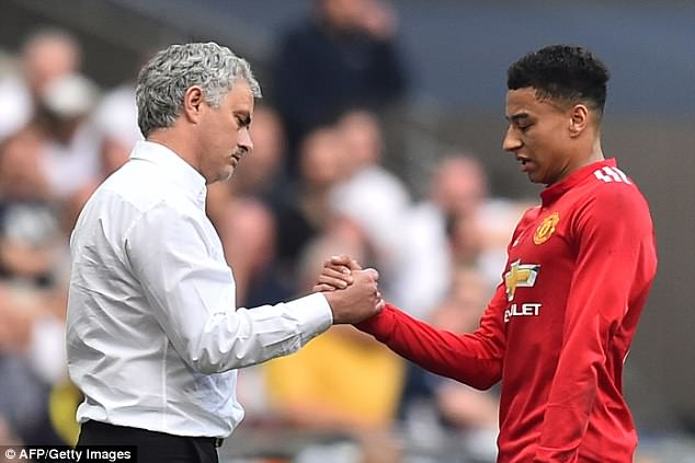 Lingard has become a key part of Mourinho's side since he took charge at Old Trafford