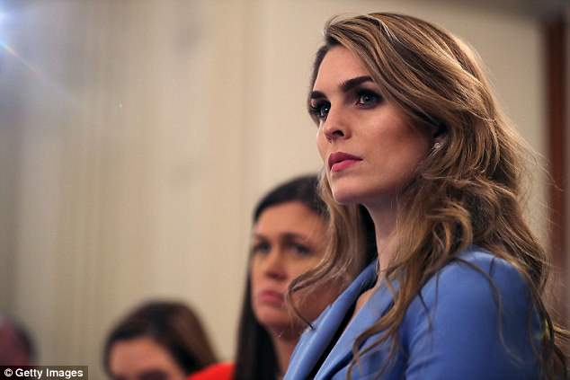 There has been an exodus from the Trump administration in recent months, with numerous staffers pushed out such as former White House Communications Director Hope Hicks
