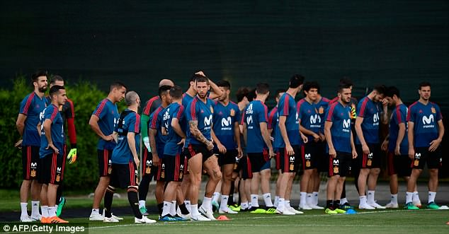 Spain begin their World Cup campaign against Euro 2016 champions Portugal on Friday