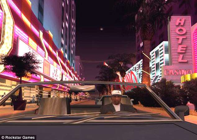 A screenshot from Grand Theft Auto: San Andreas. One boy, 15, said it was 'unsafe' because it can 'influence' children to be violent