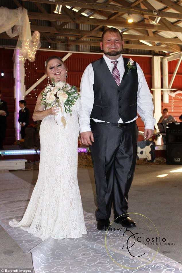 After marrying her husband Tony in November 2017, Challi has vowed to live her life to the fullest