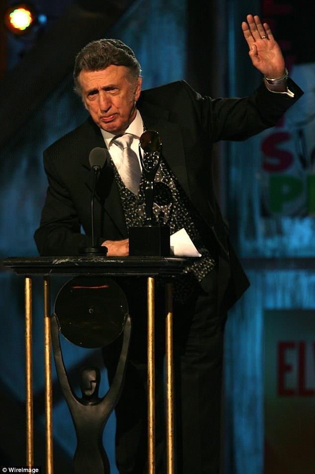 Praised: Fontana was inducted into the Rockabilly Hall of Fame in 2009. Later that year he was entered into the Rock and Roll Hall of Fame in the sideman category