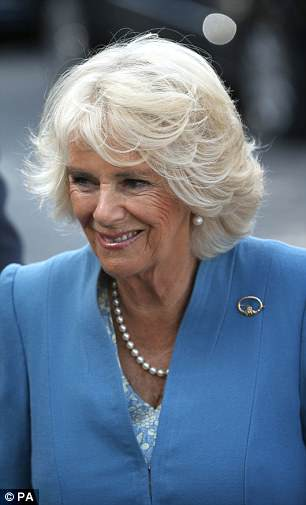 The Duchess of Cornwall today