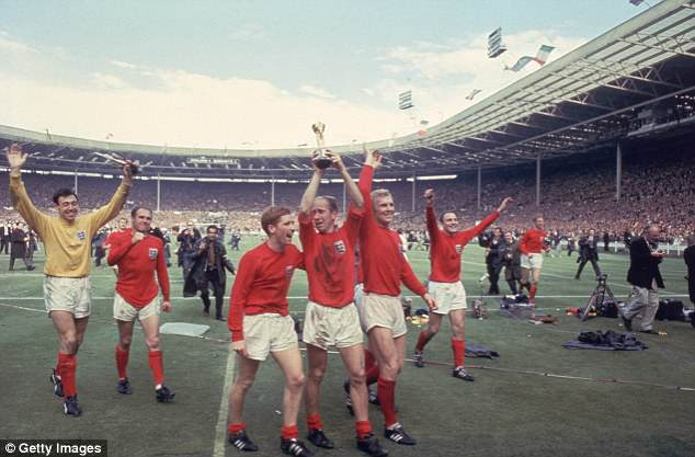 Before England's World Cup triumph on home shores in 1966 there was little fanfare