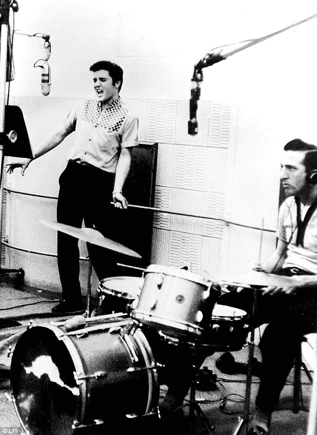 Collaborative effort: While the band parted ways in 1958, Fontana kept working with Elvis until 1968