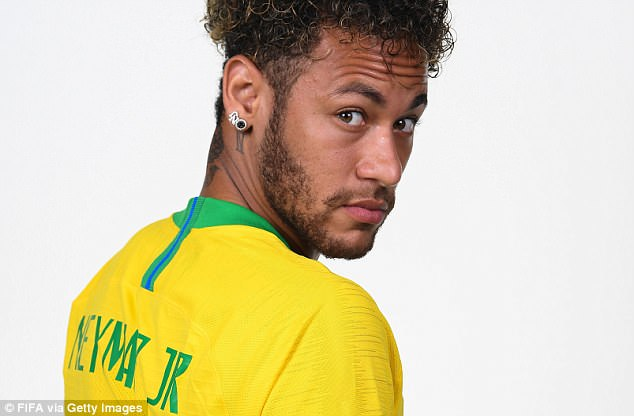 But Neymar said he is proud of his career as he prepares to lead Brazil at the 2018 World Cup