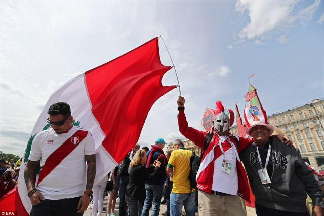 Peru will be among the best supported side in Russia as they appear in their first World Cup finals in 36 years