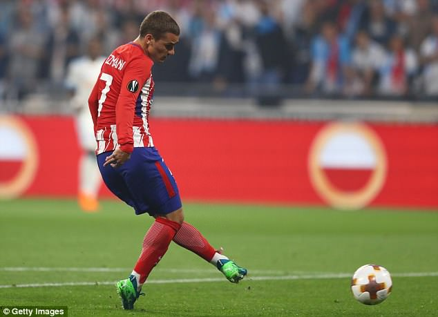 Griezmann joined Atletico in 2014 and still has four years remaining on his contract