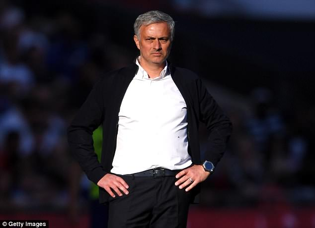 United manager Jose Mourinho was highly critical of Martial's performances last season