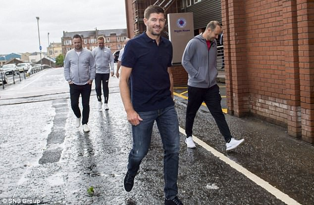 Gerrard is preparing to take charge of his first game at the club having reconfigured the squad
