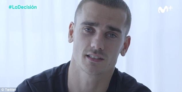 Antoine Griezmann has revealed he will announce what his future holds on TV on Thursday