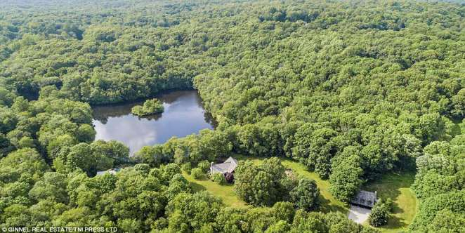 Hideaway:Brokaw listed his home in Pound Ridge, New York, approximately an hour outside the city, for $6.3 million earlier this month (property above)