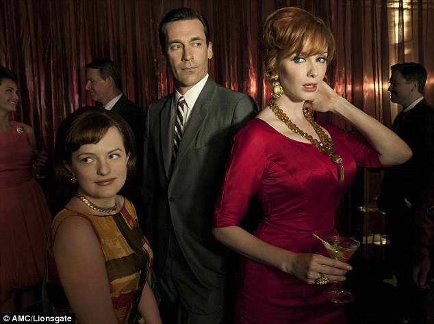 Mad Men is among the series broadcast by Netflix. Their scripts are not vetted for staring, flirting, or bonking. Sex is a major selling point
