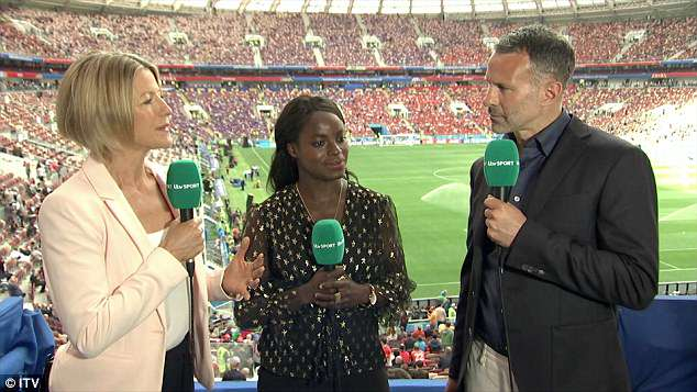 Eni Aluko was insightful and clearly researched Russia vs Saudi Arabia thoroughly