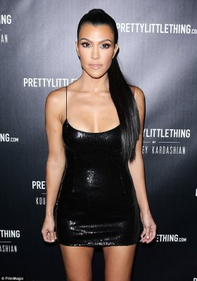 Kourtney,the only Kardashian who didn't make the Maxim Hot 100 chart