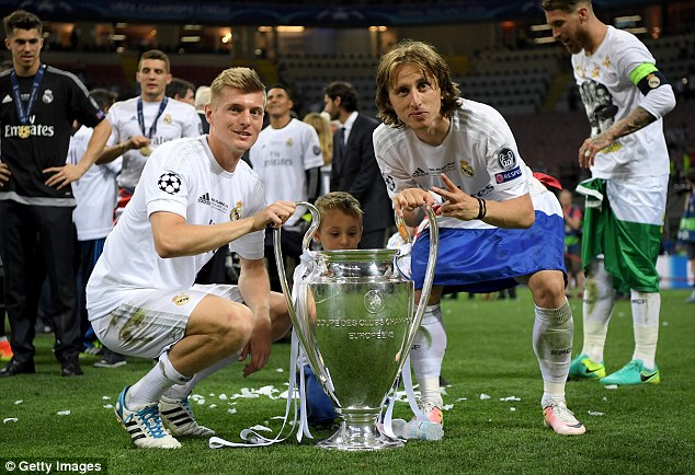 Toni Kroos and Luka Modric help Ronaldo to realise his full potential with Real Madrid