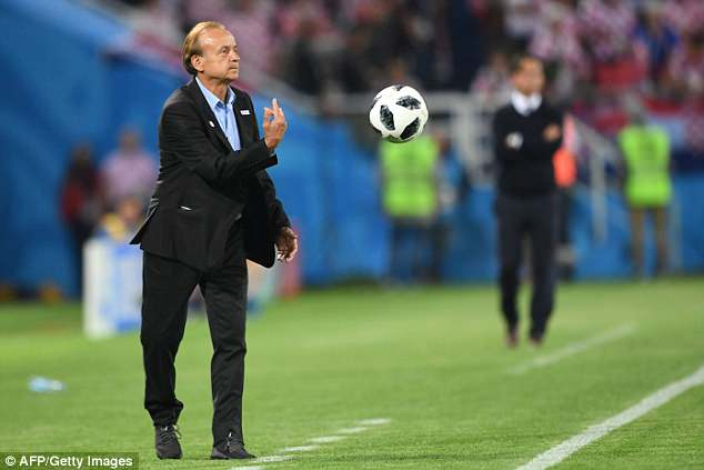 Nigeria coach Gernot Rohr is confident his squad can regroup as they now turn to  Iceland