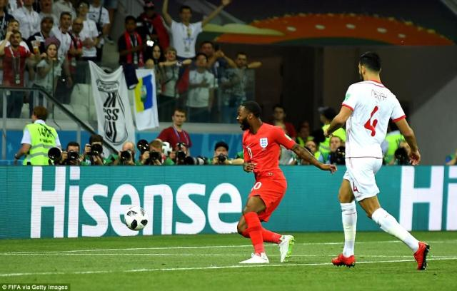 Sterling, however, could not convert despite being under no pressure at the back post, but the pressure soon told