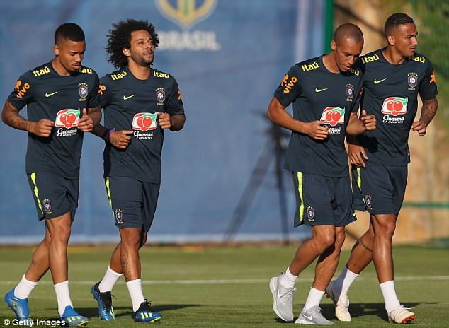 Brazil geared up for their next World Cup clash against Costa Rica on Friday