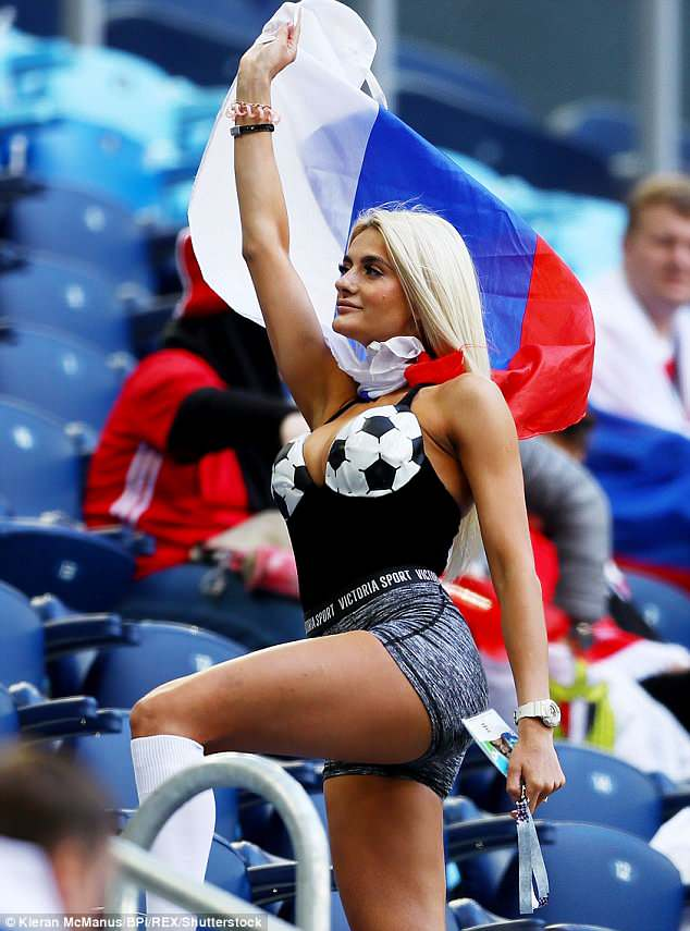 WAGs at the competition have generated huge interest as they turn out to support their partners in the World Cup