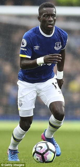 Idrissa Gueye von Everton