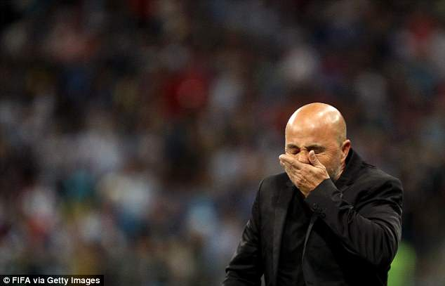 Jorge Sampaoli and his side now need results to go their way to advance from the group