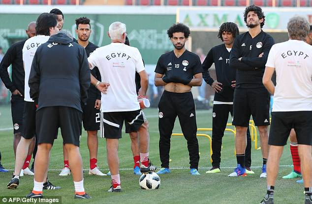 Reports surfaced this week claiming Salah would head home amid a rift in the Egypt camp
