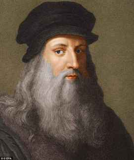 Is this Leonardo da Vinci's earliest surviving work? Self-portrait as  Archangel Gabriel unveiled | Daily Mail Online