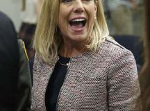 Florida Attorney General Pam Bondi confronted | Daily Mail ...