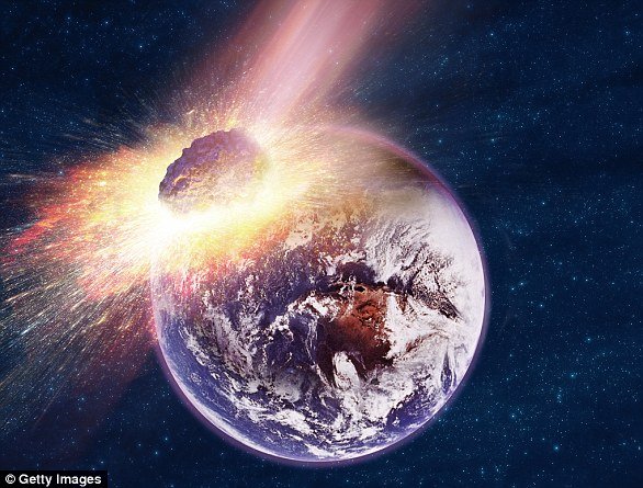 The U.S. government is stepping up efforts to protect the planet from incoming asteroids that could wipe out entire regions or even continents (stock image)