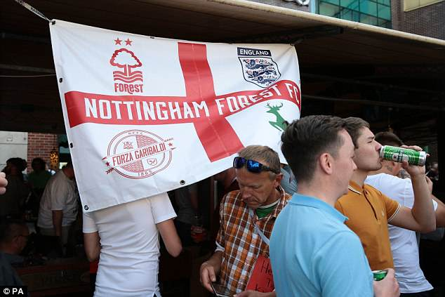 Thousands of England football fans are expected to travel to Kaliningrad for tonight's game