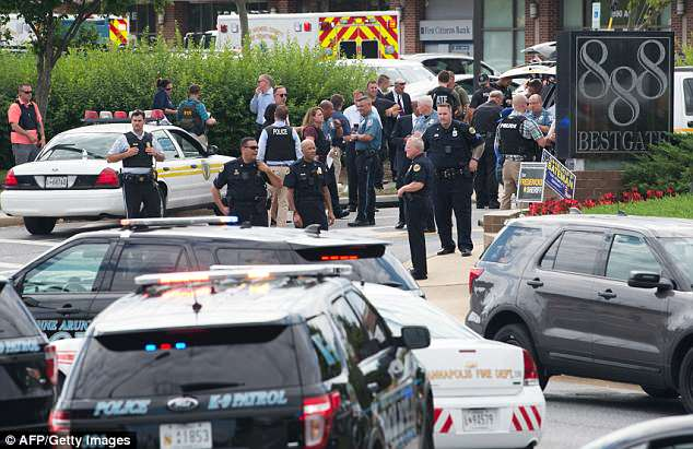 Several people were feared killed Thursday in the mass shooting