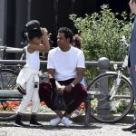 Daddy-Daughter time : Jay Z and Blue Ivy in Berlin