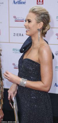 Logie Awards 2018: Sylvia Jeffreys dons a blue sequinned ...