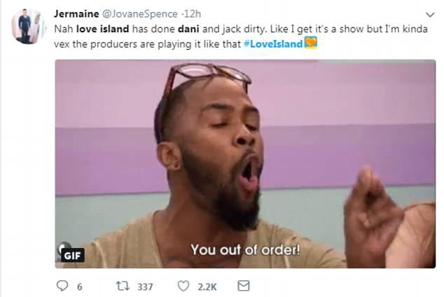 Rauchend: Twitter bricht mit Schock über die Produzenten aus das Glück von Jack und Danis Romanze