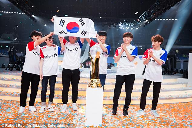 The South Korean Overwatch World Cup Team Has Been