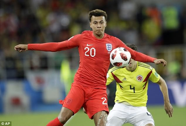 One to watch: Ruby is is believed to have been dating midfielder Dele Alli, 22, for two years