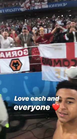 Lingard shows his affection to the fans: 'Love each and everyone'