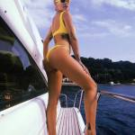 Rita Ora shows off toned physique in France