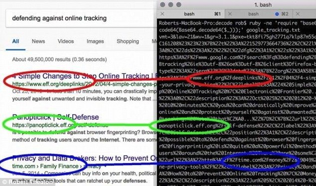 An expert discovered that software is designed to allow users to customise the appearance of how web pages appear in Chrome and Firefoz, had been hijacked by spyware. The extension may have been recording the browsing history of everyone who uses it (pictured)