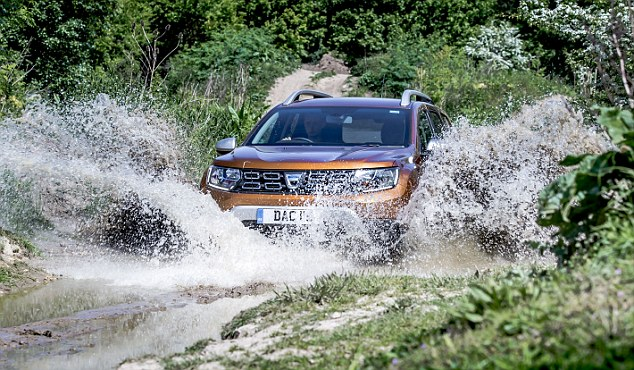 Splash out? Hardly, for the revamped Dacia Duster with prices below £10,000