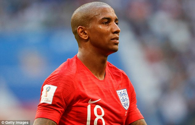 Manchester United's Ashley Young has put his experience to good use to impress in Russia