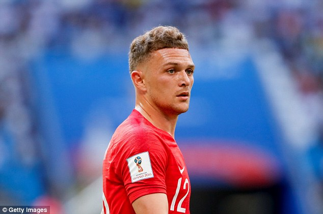 England's right wing-back Kieran Trippier must be the best crosser at the tournament